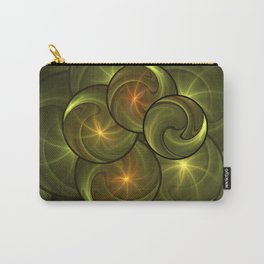 Fractal Positive Energy Carry-All Pouch