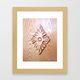 Wood 3 Framed Art Print
