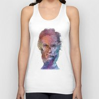 lincoln Tank Tops featuring Zombie Lincoln by Albert F. Montoya