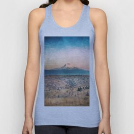 Desert Mountain Adventure - Nature Photography Unisex Tank Top