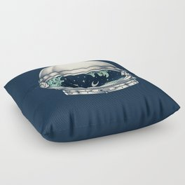 Spaceship Floor Pillow