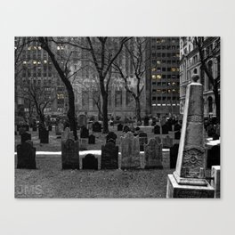 American Exchange and Trinity Canvas Print