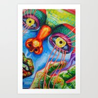 Tender Surface Rejected - CU Art Print
