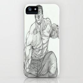 Hulk Smash. iPhone Case