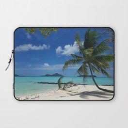 Bora Bora Palm Tree Laptop Sleeve