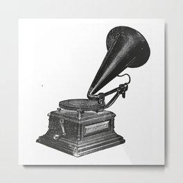 Gramophone 2 Metal Print