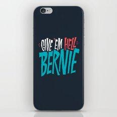 Give 'em Hell Bernie iPhone & iPod Skin