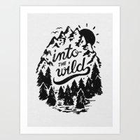 Into The Wild Art Print