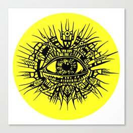 ALL-SEEING DEITY - EYE OF PROVIDENCE Canvas Print