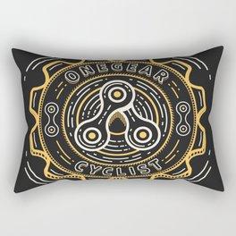 One Gear Rectangular Pillow