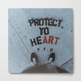Protect IT Metal Print