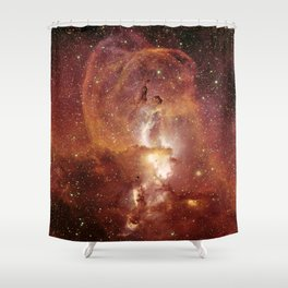Star Clusters Space Exploration Shower Curtain