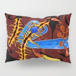Visonorph V2 - digital abstract Pillow Sham