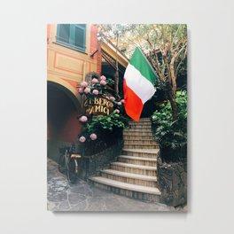 Welcome Home Italia Metal Print