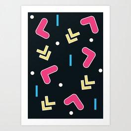 Geometric Calendar - Day 48 Art Print
