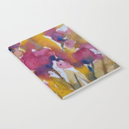Abstract flowers (2) Notebook