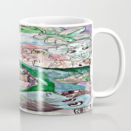 Stormy Village Coffee Mug