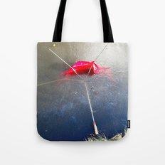 Umbrella Blues 4 Tote Bag