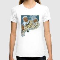maori T-shirts featuring Koro, the Maori Storyteller by Patricia Howitt