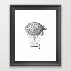 Airfish Express Framed Art Print
