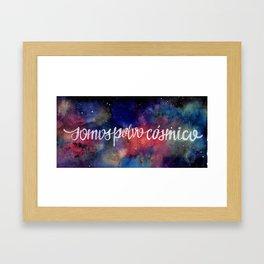 """""""Cosmic dust"""" Framed Art Print"""