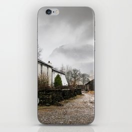 Still Raining in Seathwaite iPhone Skin