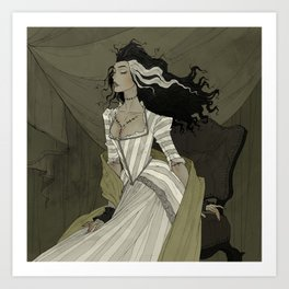 A Bride for the Monster Art Print