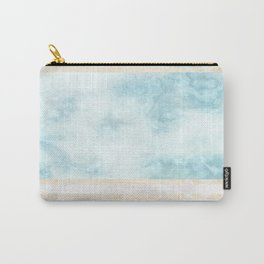 Pastel Marble Composition #5 Carry-All Pouch