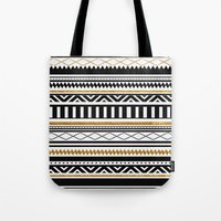 aztec Tote Bags featuring Aztec by Kakel