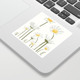 Summer Flowers III Sticker