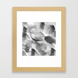Draw Framed Art Print