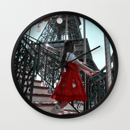 French Carrusel Wall Clock