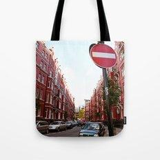 london calls Tote Bag
