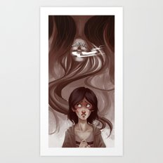 Uneternal Sleep Art Print