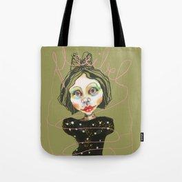 flexible girl Tote Bag