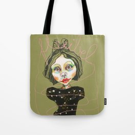 flexible girl Tote Bag