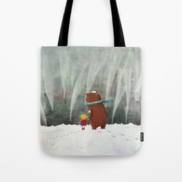 View from the hill Tote Bag