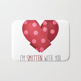 I'm Smitten With You Bath Mat