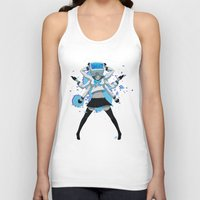 vocaloid Tank Tops featuring What the hell's going on?! by Helixel