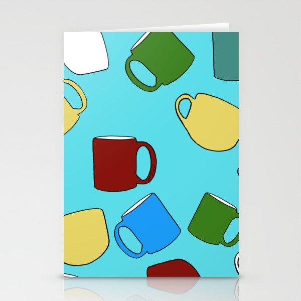 Coffee Mugs! Stationery Cards