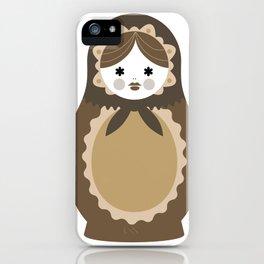 Matrioska-009 iPhone Case