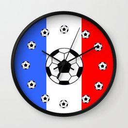 France Foot Wall Clock