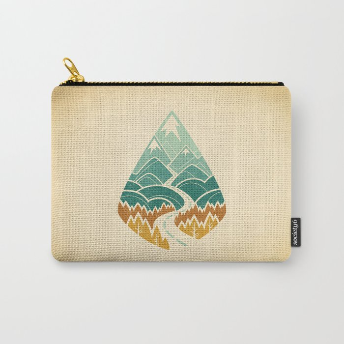 The Road Goes Ever On: Autumn Carry-All Pouch