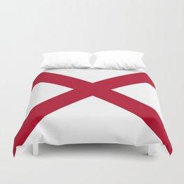 Alabama State Flag Duvet Cover