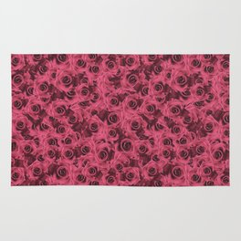 Dusty Roses Rug