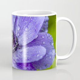 Raindrops on Anenome Coffee Mug