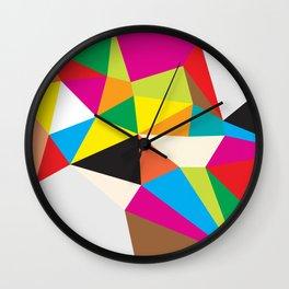 Tumble Wall Clock