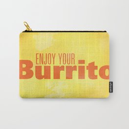 Enjoy Your Burrito Nerdist Carry-All Pouch