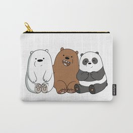 We Bare Bears Carry-All Pouch