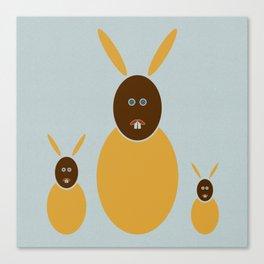 Rabbit Rabbit Rabbit Canvas Print